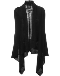 Zadig & Voltaire Fishnet Knit Draped Cardigan