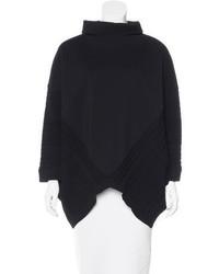 Valentino Oversize Mock Neck Sweater