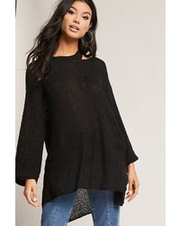 Forever 21 Oversized Open Knit Cutout Sweater
