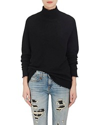 R 13 R13 Cashmere Oversized Turtleneck Sweater