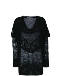Stella McCartney Ruffle Neck Sweater