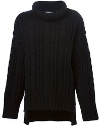 Viktor & Rolf Oversized Cable Knit Sweater