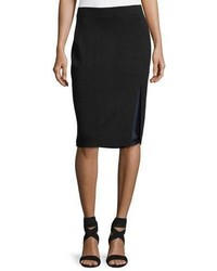 Alyssa double layer knit pencil skirt medium 4991287