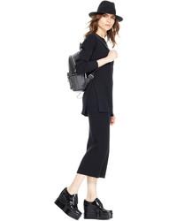 DKNY Ribbed Tube Skirt