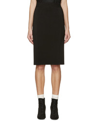 Burberry London Black Knit Skirt