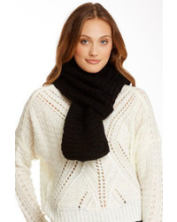 14th Union Faux Fur Knit Infinity Scarf