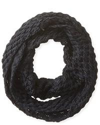 Dearfoams 2 Tone Diamond Knit Infinity Scarf