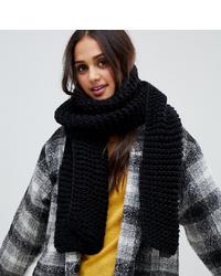 434093670 Women's Black Knit Scarves from Asos | Women's Fashion | Lookastic.com
