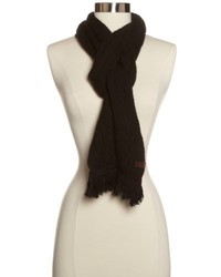 True Religion Cable Knit Scarf