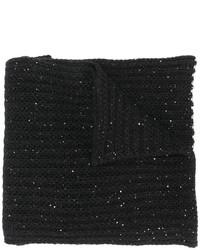 Nude Chunky Knit Scarf