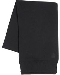 Dolce & Gabbana Crown Crest Wool Knit Scarf