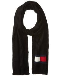 Tommy Hilfiger Knit Logo Scarf Scarves