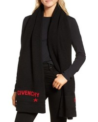Givenchy Knit Wool Scarf