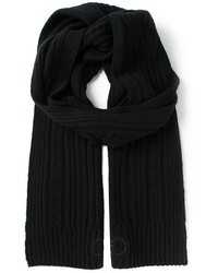 Salvatore Ferragamo Ribbed Scarf