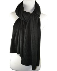 Pr By Pr Cashmere Cable Muffler Wrap