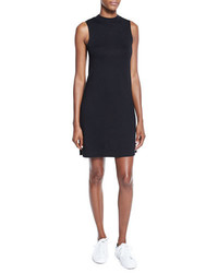 Rag & Bone Jean Hudson Mock Neck Knit Shift Dress Black