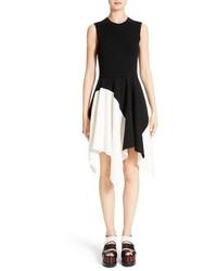 Proenza Schouler Knit Stretch Silk Dress