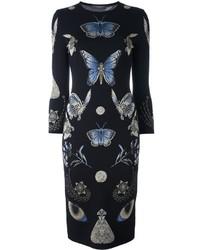 Alexander McQueen Obsession Knit Pencil Dress