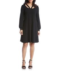 Karen Kane Karen Lane Cutout Neck Sweater Dress
