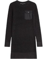 Marc by Marc Jacobs Knitted Cotton Silk Sweater Dress