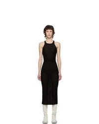 Rick Owens Black Tank Dress