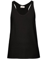 Acne Studios Iso Ribbed Cotton Blend Tank Top