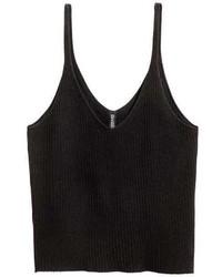 H&M Rib Knit Tank Top