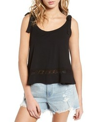 Shoulder tie knit tank medium 4014759