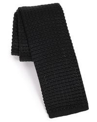 Knit silk tie medium 403941