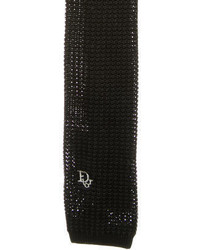 Christian Dior Knit Tie