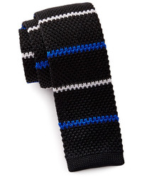 The Tie Bar Silk Knit Square Tie