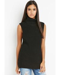 Forever 21 Contemporary Zippered Turtleneck Tunic