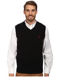 U.S. Polo Assn. Cable Front Vee Vest