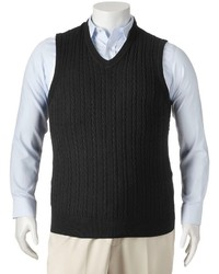 Dockers Cable Knit Sweater Vest Big Tall