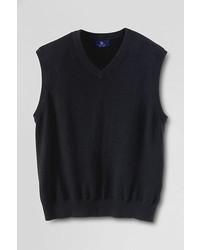 Lands' End Landsend Classic Cashmere Sweater Vest Rich Red5x