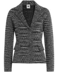 M Missoni Wool Blend Knit Blazer