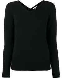 Helmut Lang V Neck Knitted Top