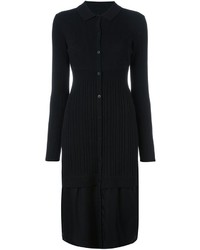 Dkny midi knit shirt dress medium 830557