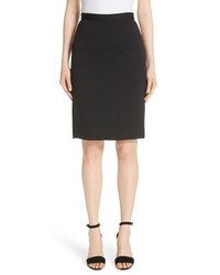 St. John Collection Milano Wool Blend Pencil Skirt
