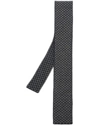Eleventy Square Pattern Knitted Tie
