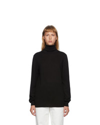 Maison Margiela Black Patch Turtleneck