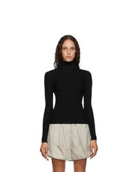 3.1 Phillip Lim Black Wool Turtleneck