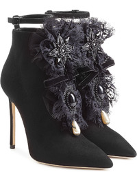 Dsquared2 Suede Ankle Boots With Lace