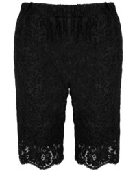 Gold Hawk English Lace Bermuda Shorts