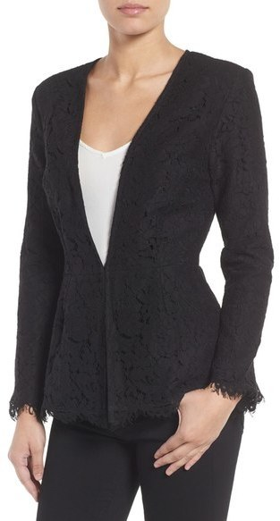 Cupcakes And Cashmere Tess Lace Blazer