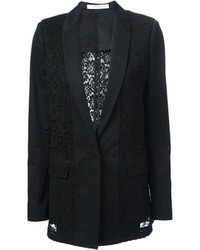 Givenchy Floral Lace Panel Blazer
