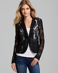 Nanette Lepore Blazer New Wave Lace