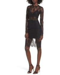 Carrie lace body con dress medium 5262355