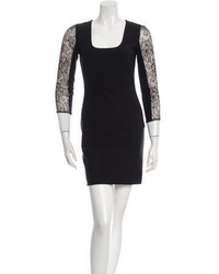 Stella McCartney Lace Trimmed Bodycon Dress