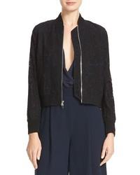 Kennadie lace bomber jacket medium 1158932